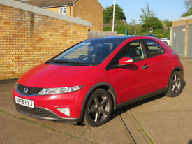 HONDA CIVIC 2.2 ES, iCDTI, 2006, manual diesel, 5 door, 11 months MOT, low mileage