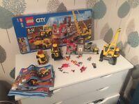 Lego City demolition site