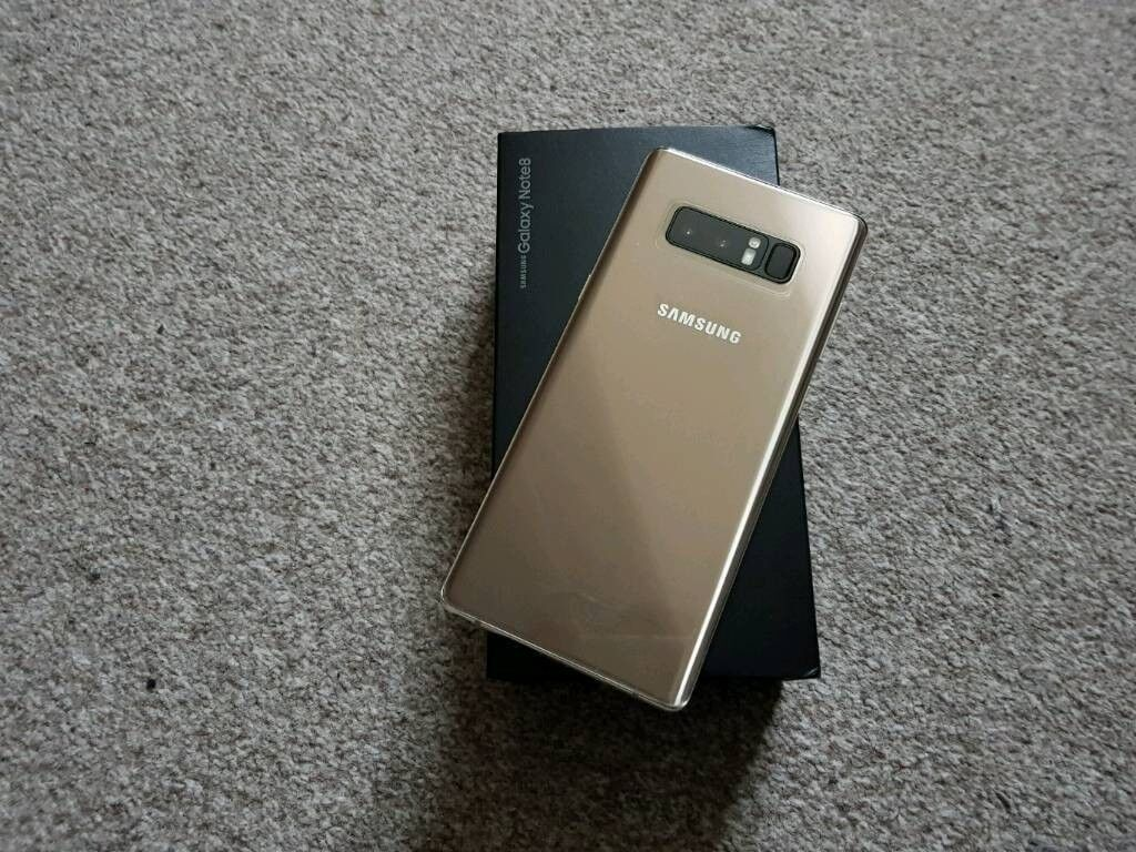 Samsung Galaxy Note 8 Maple Gold Unlocked Sim Free Boxed   in ... 544541a57ee9
