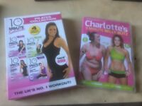 Pick up polwarth - Charlotte Crosby workout DVD plus 4 complete workout Pilates dvds