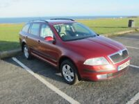 SKODA OCTAVIA FOUR WHEEL DRIVE ESTATE,2007 2LTR TDI,6SPEED ,DRIVES LIKE NEW,FACTORY SPECIAL ORDER,.