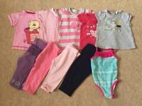 Girls summer bundle 6-9 months