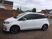 IMMACULATE White Toyota Sport Yaris Vvt-I 2013 BARGAIN