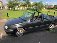 Vw convertible x/2000, low miles, mot, drive away summer project