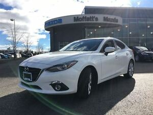 2016 Mazda MAZDA3 GT LEATHER, SUNROOF, HEAT SEATS, BACK-UP CAM,