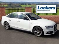 Audi A4 TFSI S LINE BLACK EDITION PLUS (white) 2015-06-17