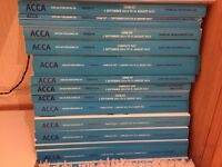ACCA Kaplan Financial F1-F9 books