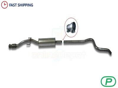 Peugeot 207 1.6 HDI CC//Hatchback//Estate 06-11 CHROME Silencer Exhaust System L35