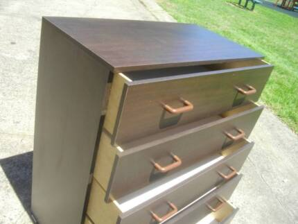 NEW*CUSTOM MADE*TALLBOY*CHEST OF 5 DRAWERS*COMES ASSEMBLED*