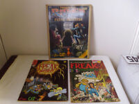 FABULOUS FURRY FREAK BROTHERS COMICS,ISSUES NO'S 1 &7,ALSO THOROUGHLY RIPPED