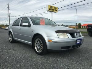2003 Volkswagen Jetta Wolfsburg Ed 1.8L 5sp Kingston Kingston Area image 1