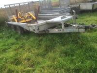 Ifor Willian's plant trailer 10' x 6' 3.5 ton no vat