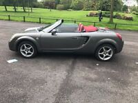 2005 05 TOYOTA MR2 1.8 VVTI ROADSTER RED SPECIAL EDITION FULL HISTORY MOT 05/2017 FAULTLESS PX SWAPS