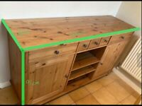 Ikea side cabinet with drawers