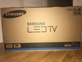 SAMSUNG LED TV 32'' series 4 NEW AND UNOPENED!!! inside the original box
