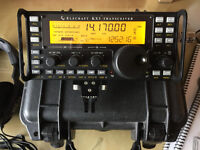 Elecraft KX3 ham radio transceiver – fully loaded, with accessories