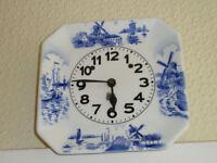 Delft style clock