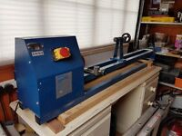 Sealey 1000 mm Wood Lathe, Chisels and Wood Blanks