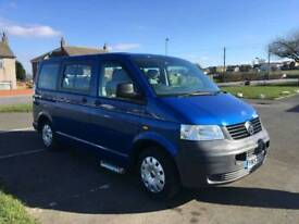 Vw transporter T26 wheelchair accessible