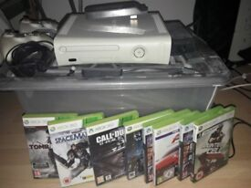 Xbox 360 fully working with accessories
