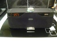 HOUSE PARTY RISE 2 WIRELESS ALARM CLOCK RADIO