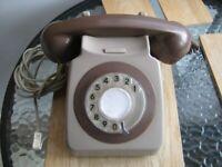 BT. Old telephone.