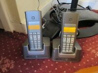 bt Freestyle 225 home phone 2 handsets