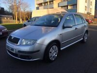 SKODA FABIA LOW MILEAGE FULL HISTORY VERY CLEAN
