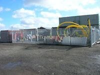 Secure Compound unit 2700sqft - 24 access, secure site, CCTV - for storage, scaffolding or similar