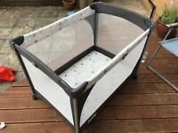 Joie travel cot bed, very good condition only used twice. Collection only.
