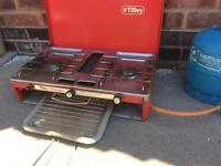 Camping Gas Stove with Gas Bottle