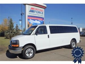 2015 GMC Savana 15 Passenger, 2 - 3 - 3 - 3 - 4 Seating Config
