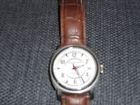 MOSCOW TIME OPEN HEART AUTOMATIC WATCH