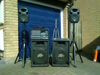 In a Band? Need a P.A. System? Must sell, so low price!