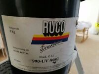 Commercial UV Black Printing Ink