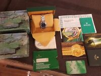 Rolex submariner 14060 mens watch non date * all paperwork * like 14060m gmt seadweller breitling