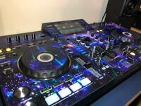 Pioneer XDJ-RX Dj controller and M Audio AV42 Speakers
