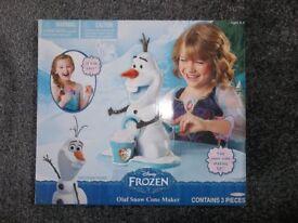 Olaf snow cone maker BRAND NEW