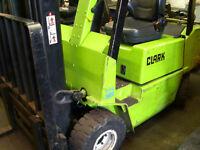 Gas Forklift SIDESHIFT 4.3m triplex mast 2000kg *CONTAINER SPEC* LPG not diesel