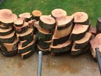 2 ton of hard wood logs