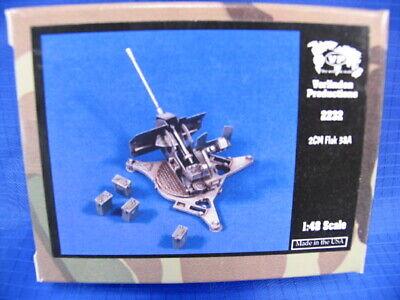 Verlinden 1/48 2cm Flugabwehrkanone FlaK 38A German Anti-Aircraft Gun WWII 2232