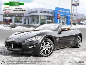 2011 Maserati GRANTURISMO CONVERTIBLE This Stunning convertible