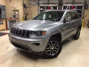 2017 Jeep Grand Cherokee LIMITED+TOIT+DÉMARREUR+CAMÉRA+CUIR