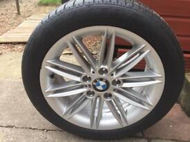 "BMW 1 Series 17"" M Sport Wheel With Goodyear Run Flat Tyre"