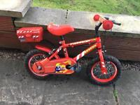 Red Fireman Bike
