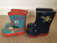 Boys toddler wellies size 6