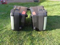 vario panniers + touratech tank bag+mudsling +fender extender