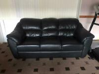 Faux leather sofas, Perfect condition, like new!