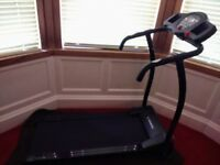 Motorised treadmill for sale nearly new