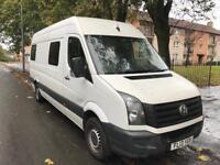 13 plate Volkswagen crafter lwb ideal camper conversion motd